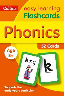 Picture of Phonics Flashcards: Prepare for Preschool with easy home learning (Collins Easy Learning Preschool)