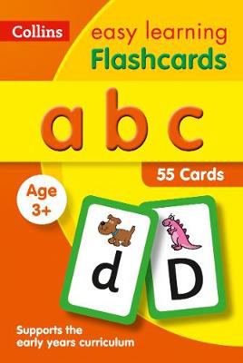 Picture of abc Flashcards: Prepare for Preschool with easy home learning (Collins Easy Learning Preschool)