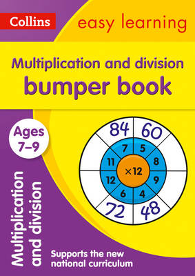 Picture of Multiplication & Division Bumper Book Ages 7-9: Prepare for school with easy home learning (Collins Easy Learning KS2)