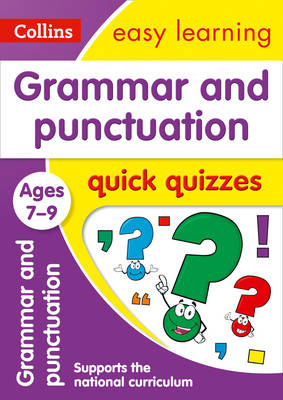 Picture of Grammar & Punctuation Quick Quizzes Ages 7-9: Prepare for school with easy home learning (Collins Easy Learning KS2)