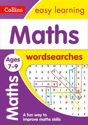 Picture of Maths Word Searches Ages 7-9: Prepare for school with easy home learning (Collins Easy Learning KS2)