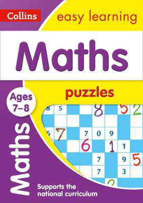 Picture of Maths Puzzles Ages 7-8: Prepare for school with easy home learning (Collins Easy Learning KS2)
