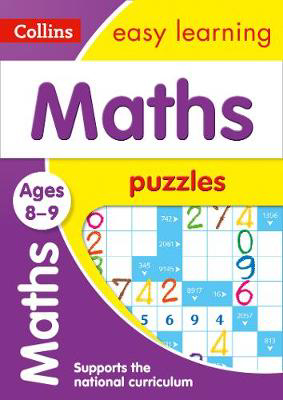 Picture of Maths Puzzles Ages 8-9: Prepare for school with easy home learning (Collins Easy Learning KS2)