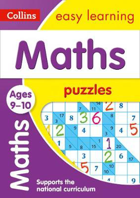 Picture of Maths Puzzles Ages 9-10: Prepare for school with easy home learning (Collins Easy Learning KS2)