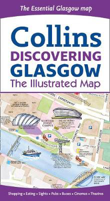 Picture of Discovering Glasgow Illustrated Map