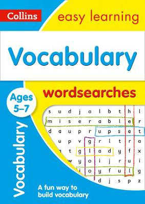 Picture of Vocabulary Word Searches Ages 5-7: Prepare for school with easy home learning (Collins Easy Learning KS1)