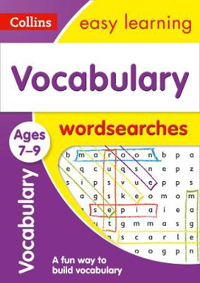 Picture of Vocabulary Word Searches Ages 7-9: Prepare for school with easy home learning (Collins Easy Learning KS2)