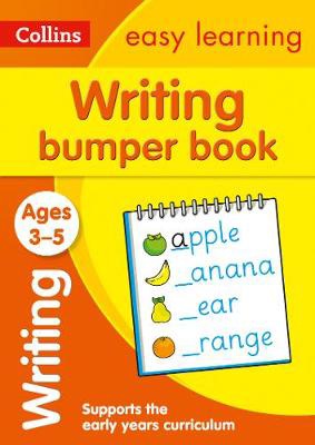 Picture of Writing Bumper Book Ages 3-5: Prepare for Preschool with easy home learning (Collins Easy Learning Preschool)