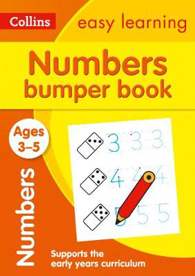 Picture of Numbers Bumper Book Ages 3-5: Prepare for Preschool with easy home learning (Collins Easy Learning Preschool)