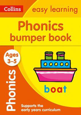Picture of Phonics Bumper Book Ages 3-5: Prepare for Preschool with easy home learning (Collins Easy Learning Preschool)