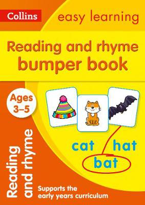 Picture of Reading and Rhyme Bumper Book Ages 3-5: Prepare for Preschool with easy home learning (Collins Easy Learning Preschool)