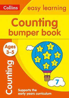 Picture of Counting Bumper Book Ages 3-5: Prepare for Preschool with easy home learning (Collins Easy Learning Preschool)