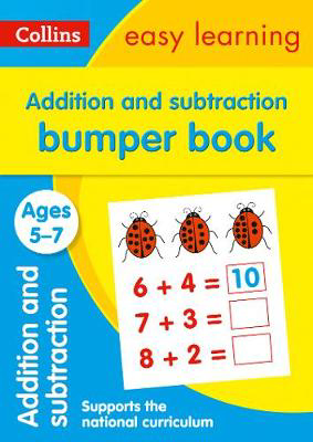Picture of Addition and Subtraction Bumper Book Ages 5-7: Prepare for school with easy home learning (Collins Easy Learning KS1)