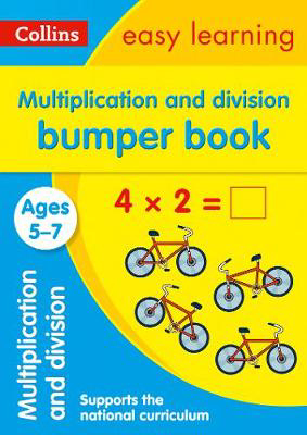 Picture of Multiplication and Division Bumper Book Ages 5-7: Prepare for school with easy home learning (Collins Easy Learning KS1)