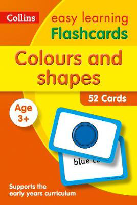 Picture of Colours and Shapes Flashcards: Prepare for Preschool with easy home learning (Collins Easy Learning Preschool)