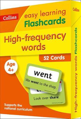 Picture of High Frequency Words Flashcards: Prepare for school with easy home learning (Collins Easy Learning KS1)