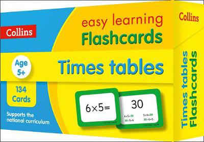 Picture of Times Tables Flashcards: Prepare for school with easy home learning (Collins Easy Learning KS2)