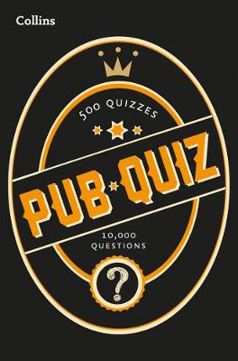 Picture of Collins Pub Quiz: 10,000 easy, medium and difficult questions