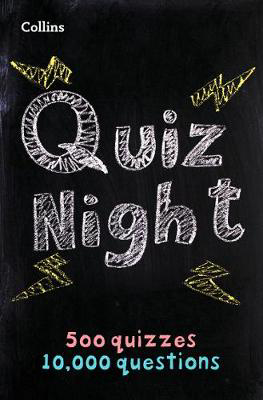 Picture of Collins Quiz Night: 10,000 original questions in 500 quizzes