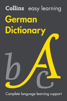 Picture of Easy Learning German Dictionary: Trusted support for learning (Collins Easy Learning)