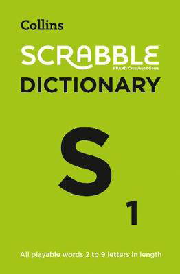 Picture of SCRABBLE (R) Dictionary: The official SCRABBLE (R) solver - all playable words 2 - 9 letters in length