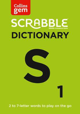 Picture of SCRABBLE (R) Dictionary Gem Edition: The words to play on the go (Collins Gem)