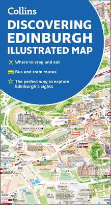 Picture of Discovering Edinburgh Illustrated Map