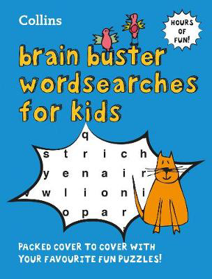 Picture of Collins Brain Buster Wordsearches for Kids