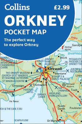 Picture of Orkney Pocket Map: The perfect way to explore Orkney