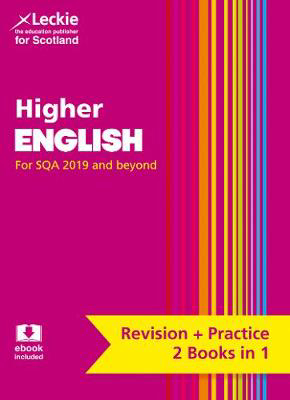 Picture of Higher English: Revise for SQA Exams (Leckie Complete Revision & Practice)