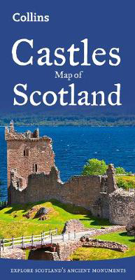 Picture of Castles Map of Scotland (Collins Pictorial Maps)