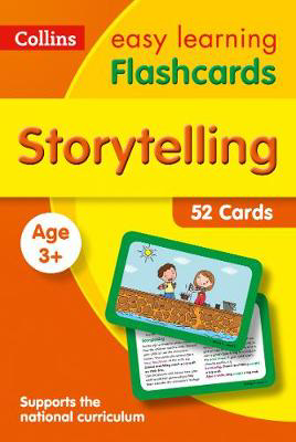 Picture of Storytelling Flashcards: Prepare for Preschool with easy home learning (Collins Easy Learning Preschool)