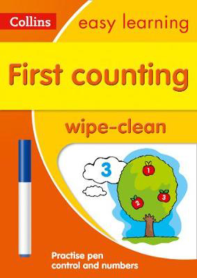 Picture of First Counting Age 3-5 Wipe Clean Activity Book: Prepare for Preschool with easy home learning (Collins Easy Learning Preschool)
