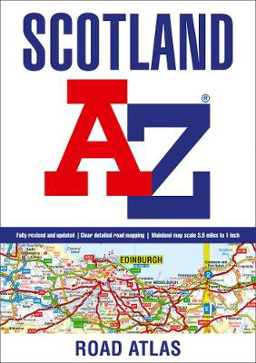 Picture of Scotland A-Z Road Atlas