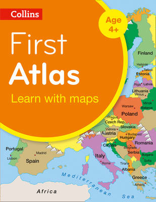 Picture of Collins First Atlas (Collins Primary Atlases)