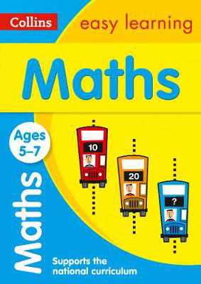 Picture of Maths Ages 5-7: Prepare for school with easy home learning (Collins Easy Learning KS1)