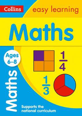 Picture of Maths Ages 6-8: Prepare for school with easy home learning (Collins Easy Learning KS1)