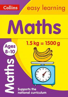 Picture of Maths Ages 8-10: Prepare for school with easy home learning (Collins Easy Learning KS2)