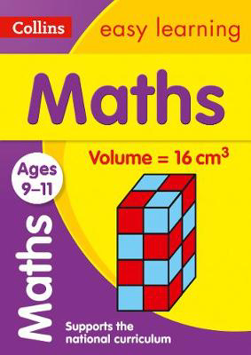 Picture of Maths Ages 9-11: Prepare for school with easy home learning (Collins Easy Learning KS2)
