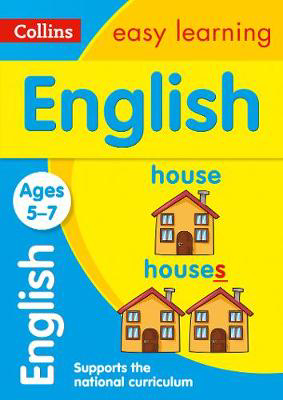 Picture of English Ages 5-7: Prepare for school with easy home learning (Collins Easy Learning KS1)