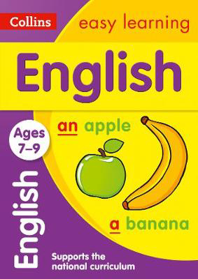 Picture of English Ages 7-9: Prepare for school with easy home learning (Collins Easy Learning KS2)