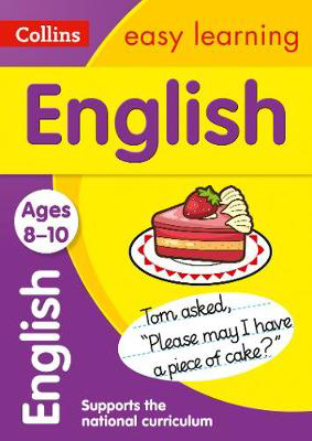Picture of English Ages 8-10: Prepare for school with easy home learning (Collins Easy Learning KS2)