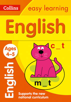 Picture of English Ages 3-5: Prepare for school with easy home learning (Collins Easy Learning Preschool)