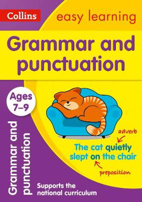 Picture of Grammar and Punctuation Ages 7-9: Prepare for school with easy home learning (Collins Easy Learning KS2)