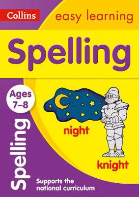Picture of Spelling Ages 7-8: Prepare for school with easy home learning (Collins Easy Learning KS2)