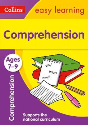 Picture of Comprehension Ages 7-9: Prepare for school with easy home learning (Collins Easy Learning KS2)