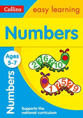 Picture of Numbers Ages 5-7: Prepare for school with easy home learning (Collins Easy Learning KS1)