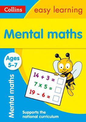 Picture of Mental Maths Ages 5-7: Prepare for school with easy home learning (Collins Easy Learning KS1)