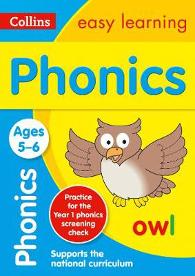 Picture of Phonics Ages 5-6: Prepare for school with easy home learning (Collins Easy Learning KS1)