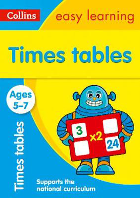 Picture of Times Tables Ages 5-7: Prepare for school with easy home learning (Collins Easy Learning KS1)